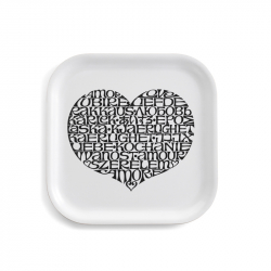 CLASSIC TRAY International Love Heart - Tray, Dish -  -  Silvera Uk
