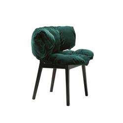 BLU VELVET - Dining Chair -  -  Silvera Uk