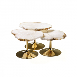 CICLADI - Side Table - Showrooms -  Silvera Uk