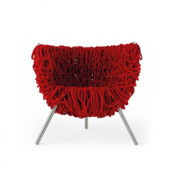 VERMELHA - Easy chair - Designer Furniture -  Silvera Uk