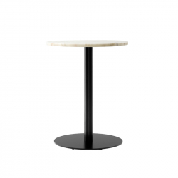 HARBOUR COLUMN round marble - Dining Table - Designer Furniture -  Silvera Uk