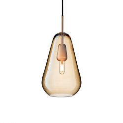 ANOLI 1 GOLD - Pendant Light - Designer Lighting -  Silvera Uk