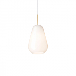 ANOLI 1 OPAL - Pendant Light - Designer Lighting -  Silvera Uk