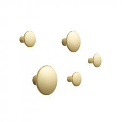 DOTS METAL Set of 5 Hooks - Hook - Accessories -  Silvera Uk