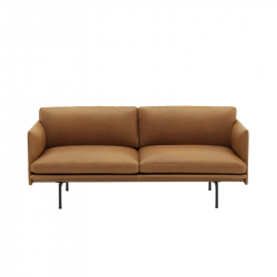 OUTLINE 2 seater leather - Sofa - Themes -  Silvera Uk