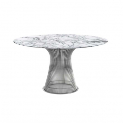 PLATNER Ø 135 Marble - Dining Table - Showrooms -  Silvera Uk