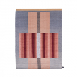 BLISS Light Red Rug - Rug - Spaces -  Silvera Uk