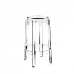 CHARLES GHOST - Bar Stool - Designer Furniture -  Silvera Uk