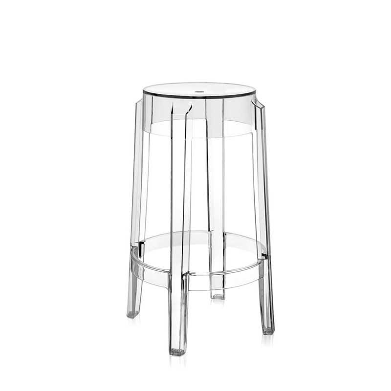 CHARLES GHOST - Bar Stool - Designer Furniture - Silvera Uk