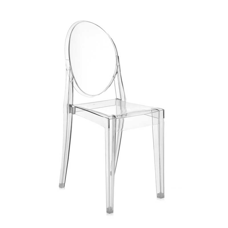 VICTORIA GHOST - Dining Chair - Designer Furniture - Silvera Uk