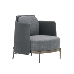 TAPE with armrests - Easy chair - Designer Furniture -  Silvera Uk