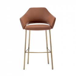 VIC METAL 648 - Bar Stool - Designer Furniture -  Silvera Uk