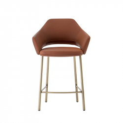 VIC METAL 649 - Bar Stool - Designer Furniture -  Silvera Uk