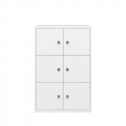 LATERALFILE LODGES 6 doors - Storage Unit - Designer Furniture -  Silvera Uk