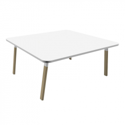 ATREO WOOD Bench - Office Desk -  -  Silvera Uk