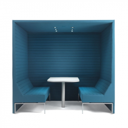 STRIPES BOX with roof - Meeting Pods -  -  Silvera Uk