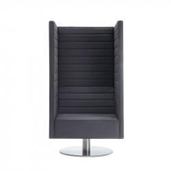 STRIPES Swivel - Lounge Chair - Silvera Contract -  Silvera Uk