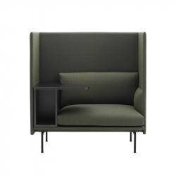 OUTLINE HIGHBACK WORK - Easy chair - Designer Furniture -  Silvera Uk