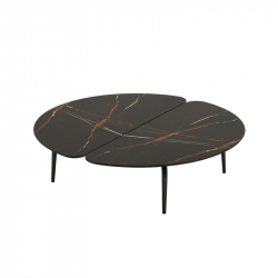 GRAPHIUM 120x118 - Coffee Table - Accueil -  Silvera Uk