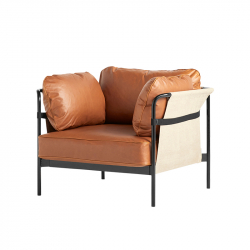 CAN 1 seater leather - Easy chair - Designer Furniture -  Silvera Uk