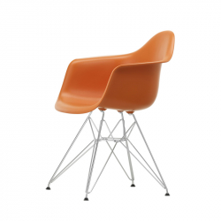 EAMES PLASTIC ARMCHAIR DAR - Dining Armchair - Designer Furniture -  Silvera Uk