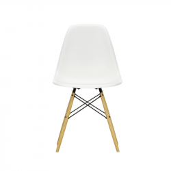 EAMES PLASTIC CHAIR DSW Golden maple - Dining Chair - Showrooms -  Silvera Uk