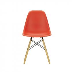 EAMES PLASTIC CHAIR DSW Golden maple - Dining Chair - Designer Furniture -  Silvera Uk
