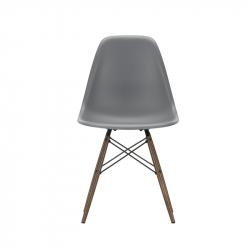 EAMES PLASTIC CHAIR DSW Dark maple - Dining Chair - Designer Furniture -  Silvera Uk