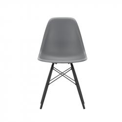 EAMES PLASTIC CHAIR DSW Black maple - Dining Chair - Designer Furniture -  Silvera Uk