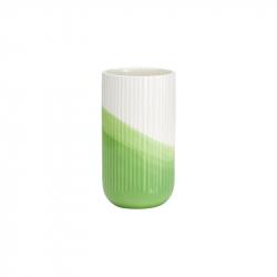 HERRINGBONE grooved Vase - Vase -  -  Silvera Uk