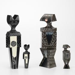 WOODEN DOLL CAT - Unusual & Decorative Objects - Accessories - Silvera Uk