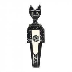 WOODEN DOLL CAT Large - Unusual & Decorative Objects - Accessories -  Silvera Uk