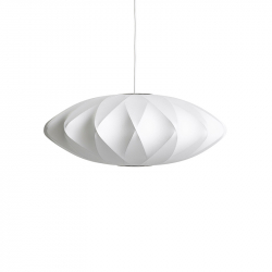 NELSON SAUCER CRISSCROSS BUBBLE - Pendant Light - Designer Lighting -  Silvera Uk