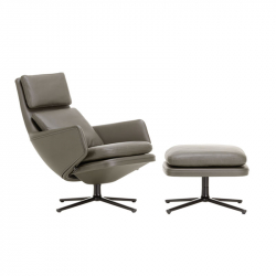 GRAND RELAX & OTTOMAN - Easy chair - Designer Furniture -  Silvera Uk