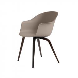BAT DINING wooden legs - Dining Armchair - Designer Furniture -  Silvera Uk