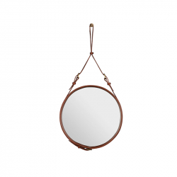 ADNET Round Mirror - Mirror - Accessories -  Silvera Uk