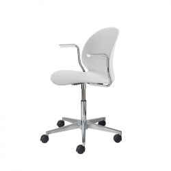 N02 RECYCLE Swivel base with armrests - Dining Chair - Designer Furniture -  Silvera Uk