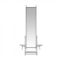 WALL MIRROR - Mirror - Accessories -  Silvera Uk