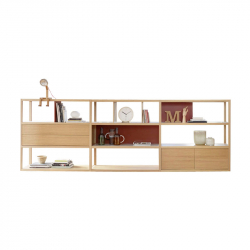 KAI L 344 x H 118 - Storage Unit - Designer Furniture -  Silvera Uk