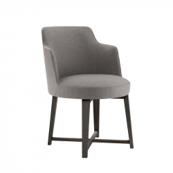 HERA with armrests - Dining Armchair - Designer Furniture -  Silvera Uk