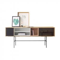 AURA L 196 x H 82 - Storage Unit - Designer Furniture -  Silvera Uk