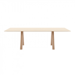 TRESTLE SIMPLE - Dining Table -  -  Silvera Uk