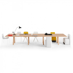 TRESTLE TRIPLE - Dining Table - Designer Furniture -  Silvera Uk