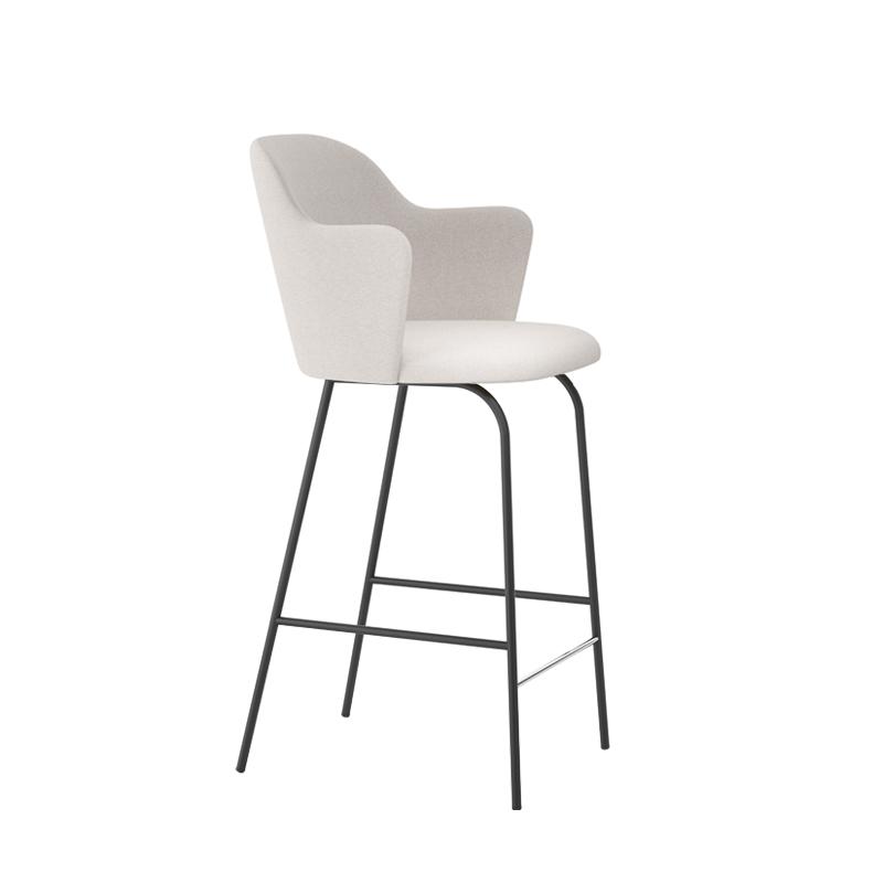 ALETA high backrest with armrests - Bar Stool - Designer Furniture - Silvera Uk