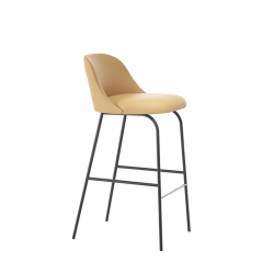 ALETA low backrest - Bar Stool - Designer Furniture -  Silvera Uk