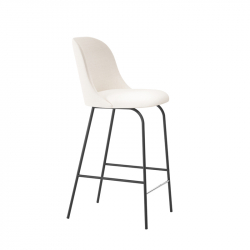 ALETA high backrest - Bar Stool - Designer Furniture -  Silvera Uk