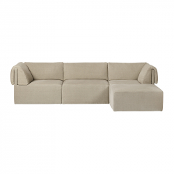 WONDER 3 seater with chaise longue - Sofa -  -  Silvera Uk