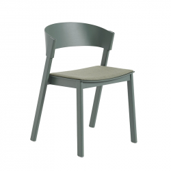 COVER SIDE CHAIR Fabric seat - Dining Chair - Designer Furniture -  Silvera Uk