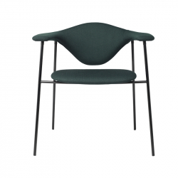 MASCULO DINING 4 legs fabric - Dining Armchair -  -  Silvera Uk