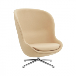 HYG HIGH swivel fabric - Easy chair - Designer Furniture -  Silvera Uk